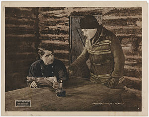 J. Warren Kerrigan - J. Warren Kerrigan in The Drifters, 1919 lobby card.