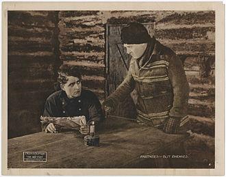 J. Warren Kerrigan - J. Warren Kerrigan in The Drifters, 1919 lobby card.