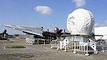 JASDF Nike-J missile launcher & missile tracking radar at Hamamatsu Air Base Publication Center November 24, 2014 01.jpg