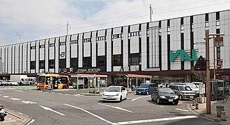 Oyama Station - Oyama Station from outside