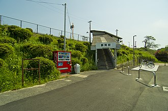 Katsuma Station - Katsuma Station in May 2012