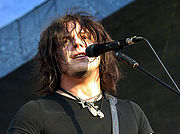 Jack White in concert with The Raconteurs at ACL 2006