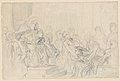 """Jacopo Brought before His Father, the Doge- Study for """"The Two Foscari"""" MET DP217801.jpg"""