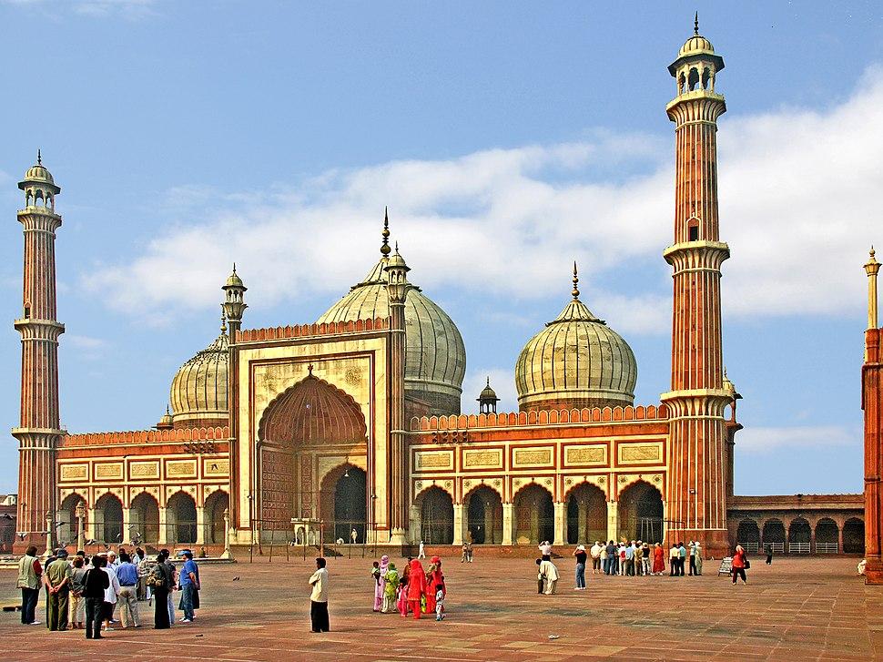 Jama Masjid, Delhi, morning view