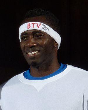 James Beckford (athlete) - Image: James Beckford 2012