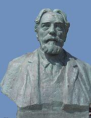buste door Edmond De Valériola; Oostende, België