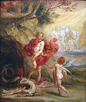 Jan Boeckhorst - Apollo en de Python