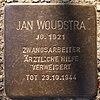 Stolperstein für Jan Woudstra