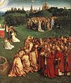 Jan van Eyck - The Ghent Altarpiece - Adoration of the Lamb (detail) - WGA07657.jpg
