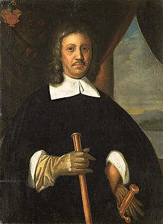 Jan van Riebeeck Dutch colonial governor