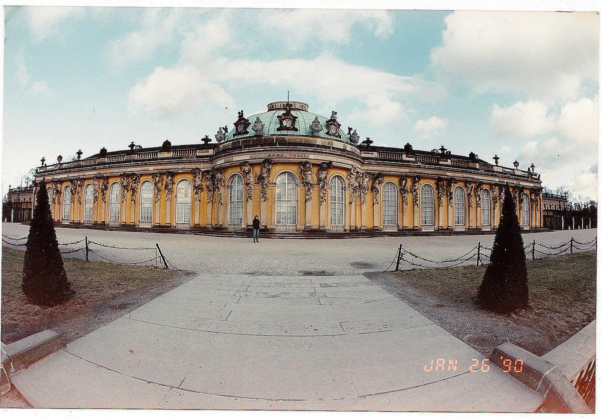 January - Allez - von Gottes Gnaden, Schloß Sanssouci Potsdam, King and Warlord of Preussen - Document ^ Star Photography 1990 The House Hohenzollern, Frederic von Preussen - panoramio.jpg