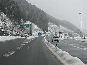Nichinan, Tottori - Japan National Route 183
