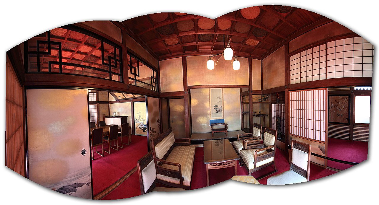 file:japanese traditional style house interior design; 和風建築(わ