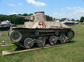 192nd Tank Battalion - IJA type 95 tank