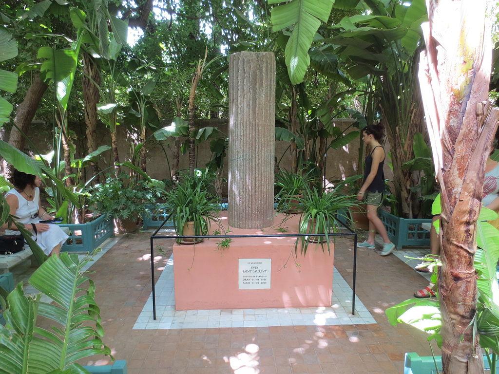 Memorial a Yves Saint Laurent en el Jardín Majorelle