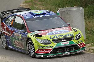 Jari-Matti Latvala - Finnish Rally Driver, SS7...