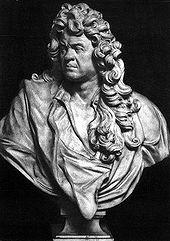 Büste von Jean-Baptiste Lully (Quelle: Wikimedia)