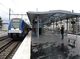 Gare de Lyon-Jean Macé - Image: Jean Macé 2