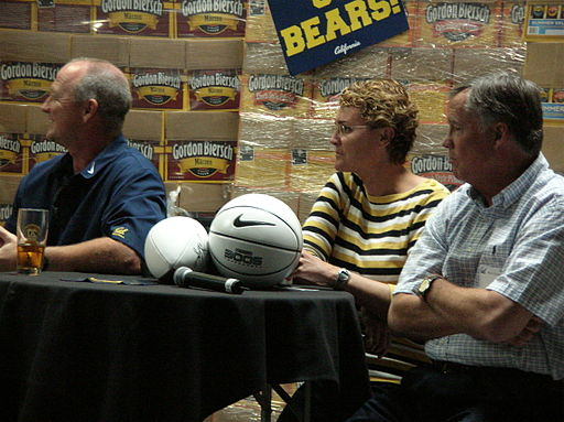 Jeff Tedford, Teri McKeever, Mike Montgomery at 2009 Coaches Tour in SJ