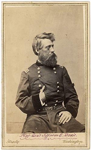 Jefferson C. Davis - Image: Jefferson C. Davis by Brady