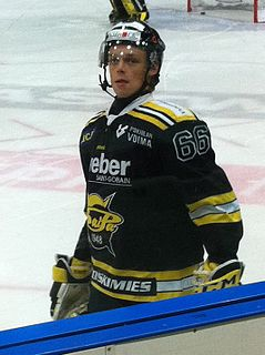 Roberts Jekimovs Latvian ice hockey player