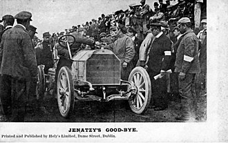 Gordon Bennett Cup (auto racing) - Jenatzy, 1903 winner