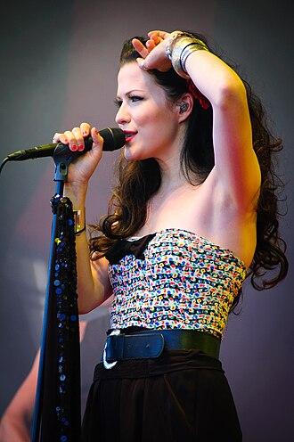 Jenni Vartiainen - Jenni Vartiainen at the 2010 Ilosaarirock