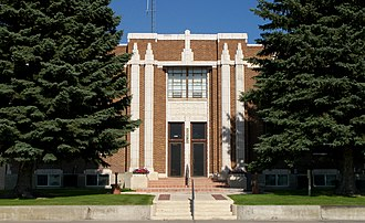 Jerome, Idaho - Jerome County Courthouse in Jerome, July 2009