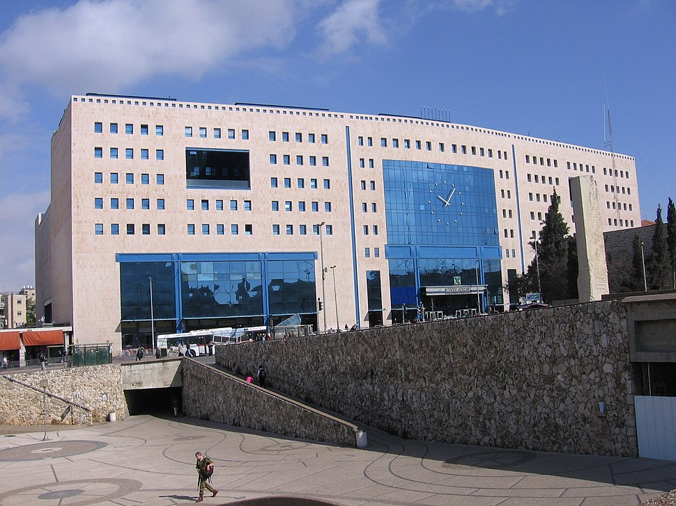 Jerusalem-Central-bus-station