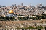Jerusalem from mt olives