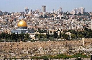 Old City (Jerusalem) Walled area in East Jerusalem