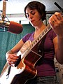 Jess Yoakum Us Folk show WMPG Portland ME August 2006.jpg