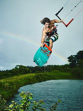 Jesse Richman - Jesse Richman kiteboarding