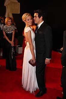 Jessica Marais & James Stewart at 2011 TV Week Logie Awards (1).jpg