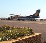 Jet Airways at Bhavnagar.jpg