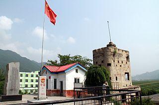 Jian Yalu River Border Railway Bridge