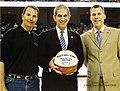 Jim Baker, President James Spaniolo, and Scott Cross; College Park Center Grand Opening (10009634).jpg