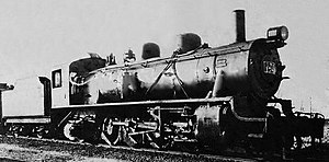 China Railways JF11 - ミカナ158x of North China Transport, one of the Jinpu Railway MK class locomotives.