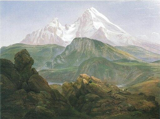 Johan Christian Claussen Dahl Der Watzmann