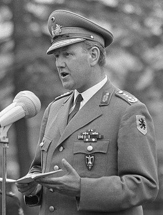 Allied Joint Force Command Brunssum - Image: Johann Adolf Graf von Kielmansegg 1967b