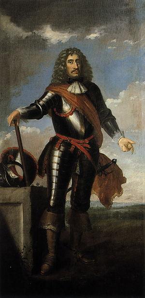 Johann Albrecht II, count of Solms-Braunfels, painted by Johann Valentin Tischbein, ca 1750