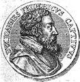 Johann Friedrich II. von Sachsen-Gotha, Medaille von 1576.JPG