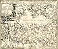 Johann Matthias Hase. Asiae minoris veteris et novae, itemque Ponti Euxini et Paludis Maeotidis mappa vel tabula. 1743.jpg
