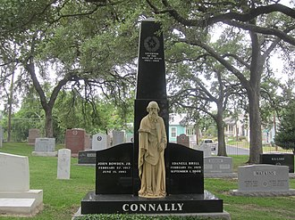 John Connally - Connally tombstone at Texas State Cemetery in Austin, Texas