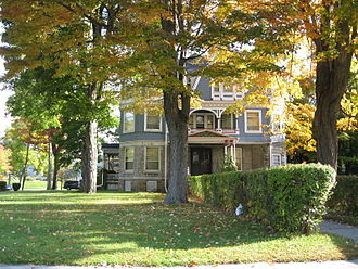 National Register of Historic Places listings in Chemung County, New York - Image: John Brand Jr. House Oct 09