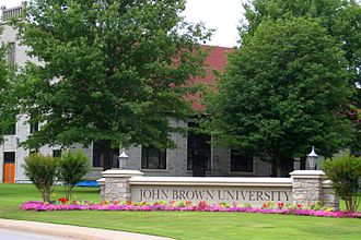 John Brown University - Campus entrance