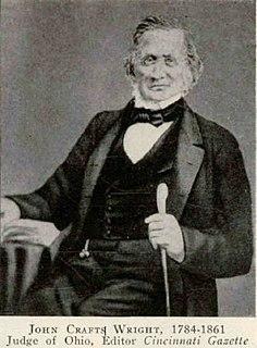 John C. Wright (Ohio politician) American politician
