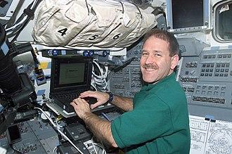 John M. Grunsfeld - John Grunsfeld during STS-109  March 4, 2002