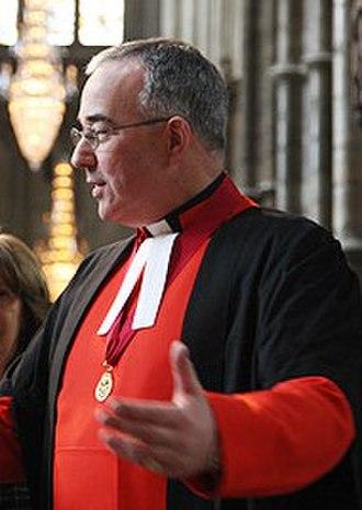 John Hall (priest) - Image: John Hall 1 April 2009 1