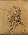 John Locke; left profile of a bust. Drawing, c. 1789, after Wellcome V0009109EBL.jpg